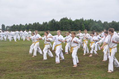 Vasaros stovykla Raganė 2011 jaunučiai