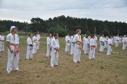 Respublikinė vasaros karate stovykla